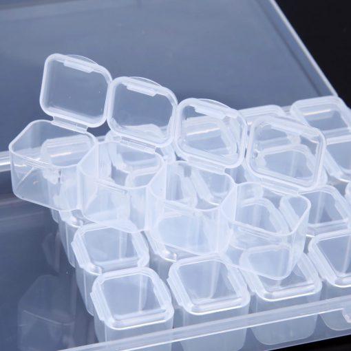 plastic storage box 28 vaks