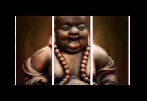 Lachende boeddha drie Luik